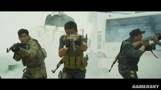 《战狼2》登陆日本大规模公映 吴京以一敌万超热血