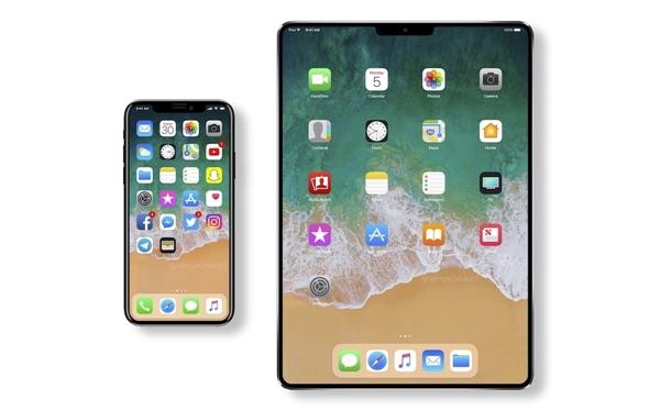 全新iPad外形曝光:全面屏没跑 A11X性能更猛