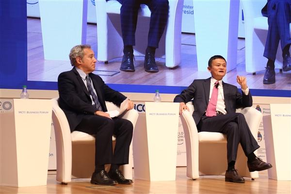 eWTP与WTO强强联手!马云:赋能普惠全球化 我的工作就是这个