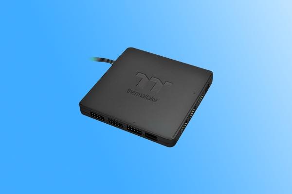 玩灯必备神器!曜越新款同步控制器发布:支持9端口RGB