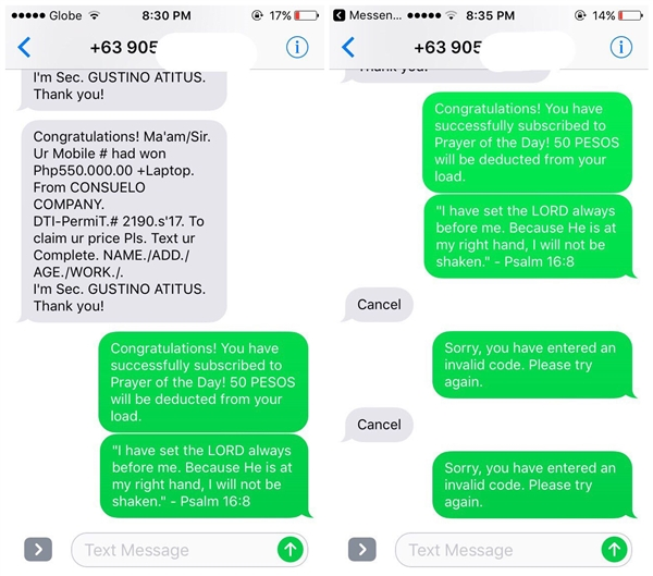 漂亮!国外妹子收诈骗短信后机智回怼:这套路666