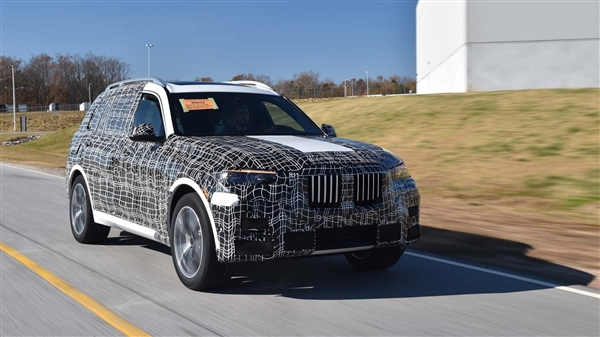 宝马X7官方预告图正式发布!BMW旗舰SUV登场