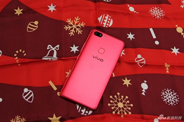 vivo X20星耀红圣诞限量版图赏:颜值大赞