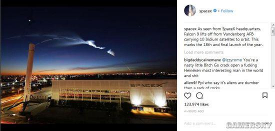 SpaceX发射火箭引美国民众恐慌:以为是核弹来袭
