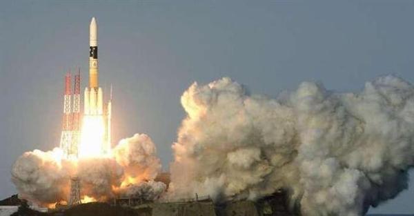 中日美罕见同日发射火箭:日美间隔61秒创纪录