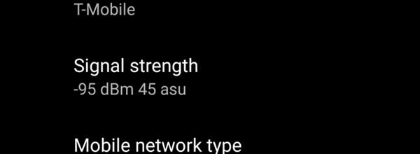 Android P突然变脸:允许运营商屏蔽信号数字强度dBm