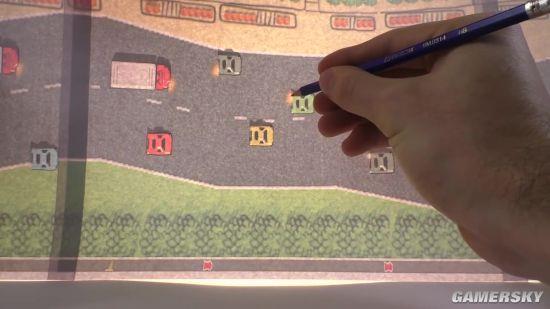 拜服!大神用硬纸板做了款赛车游戏:画面让人惊叹