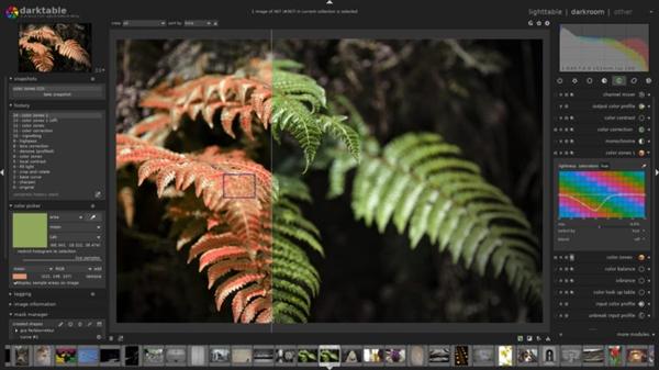 数字摄影暗房软件Darktable 2.4.0发布 首度支持Windows