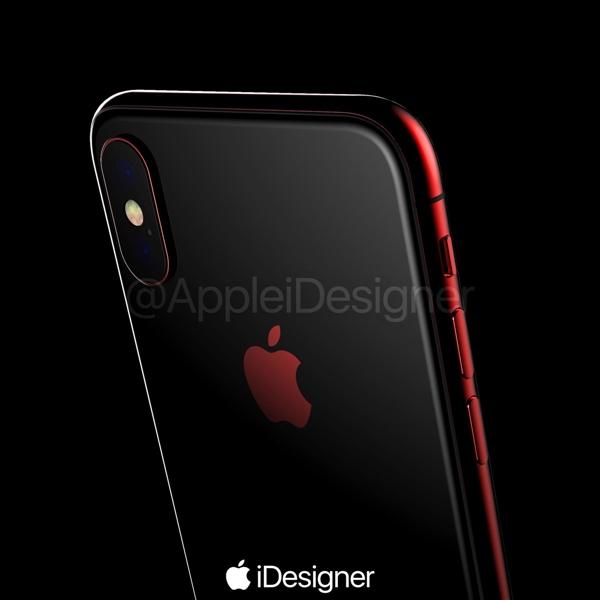 苹果要出红色iPhone X?红黑搭配颜值帅爆的照片 - 2
