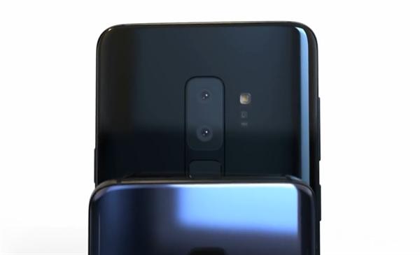 骁龙845家伙次!三星S9高清外形渲染图:屏占比要破90%