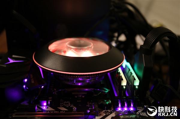 UFO造型 酷冷至尊G100M散热器开箱图赏:酷炫RGB