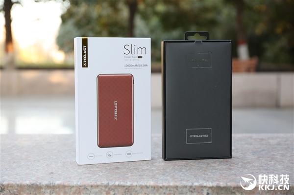 台电Slim移动电源四色开箱:漆面高颜值