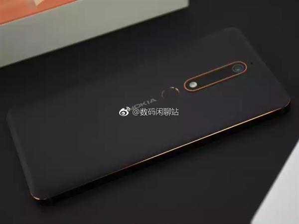 诺基亚6真机曝光:后置指纹 非全面屏
