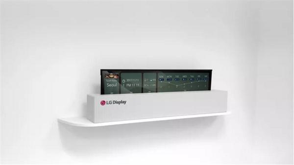 LG宣布65寸4K OLED柔性電視:像紙一樣能捲起來就走