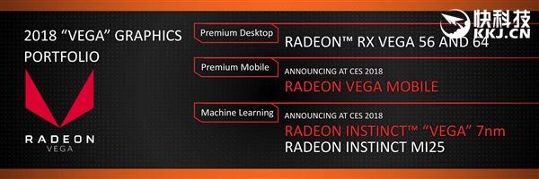 AMD官宣全球首款7nm显卡!Vega升级专攻机器学习