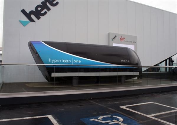 美国超级高铁亮相CES:车厢科技感十足 还有配套App