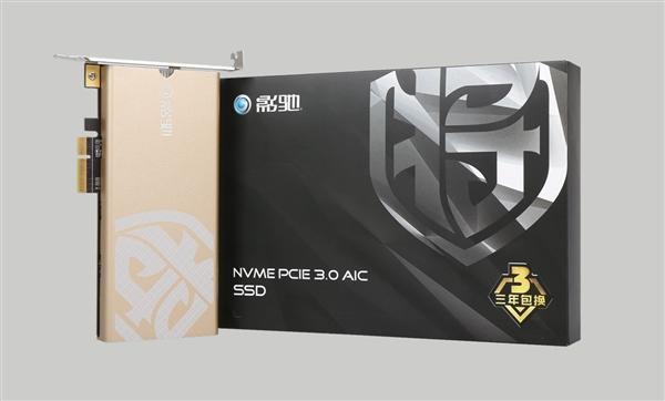 999元!影驰新铁甲战将240GB PCI-E SSD开卖:东芝原厂闪存