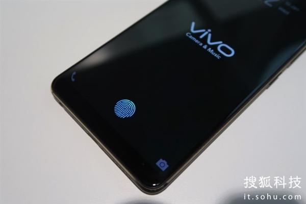 vivo全面发力:全球首款屏下指纹手机亮相 !识别速度飞快