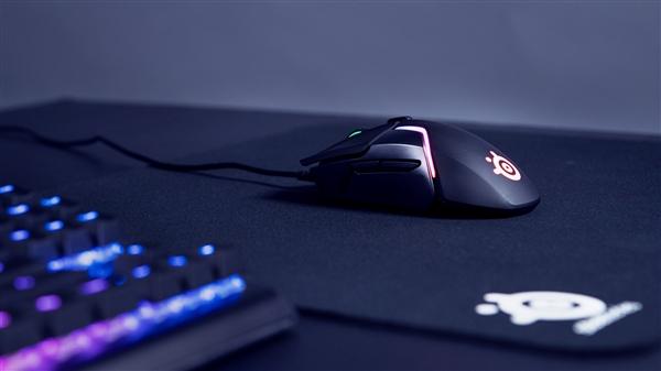 双传感器!赛睿新款Rival 600鼠标发布:12000CPI