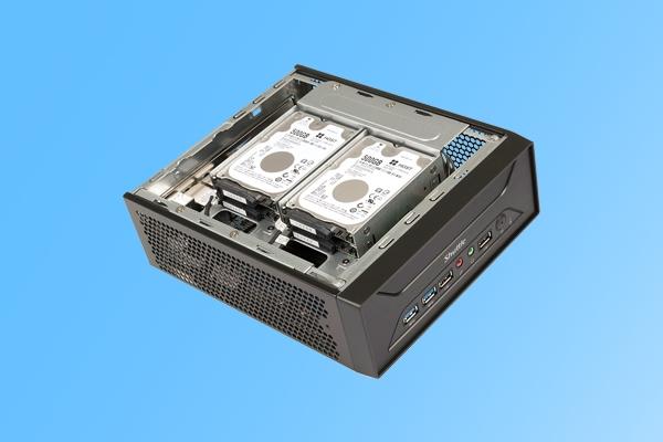 四个硬盘位!浩鑫XH270迷你PC发布:仅厚7cm