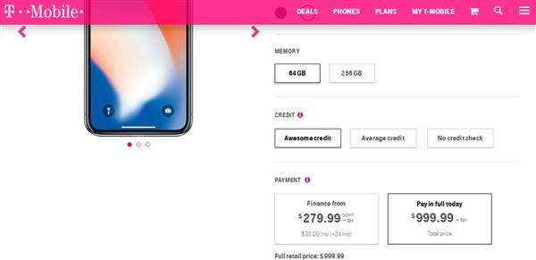 iPhone X美國銷量遇冷:運營商狠促銷買一送一