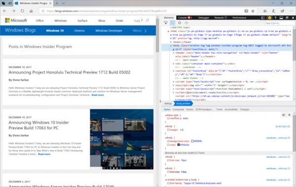 Windows 10 Build 17074预览版更新:免打扰来了