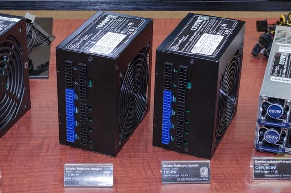 最高1200W!银欣两款PC电源发布:铂金80 Plus认证