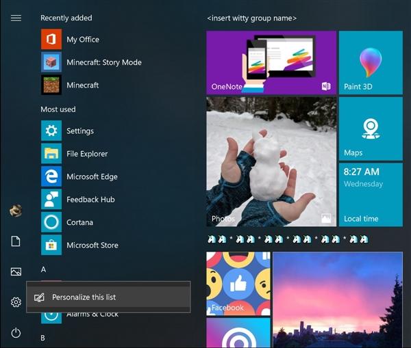 Windows 10新版17074发布:免打扰功能加入