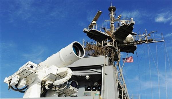 美国海军:激光武器将被应用于海军战舰中