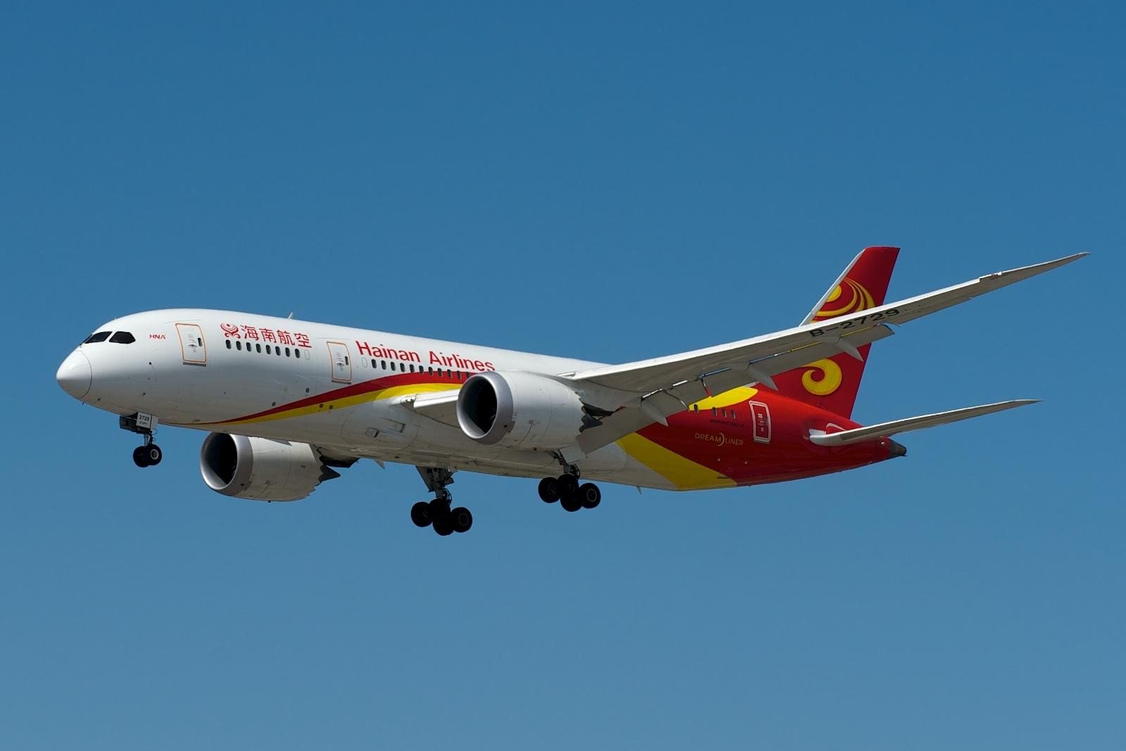海南航空宣布开放手机使用:坐飞机爽了