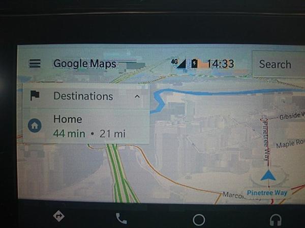 Android Auto中控画面鬼畜证实为系统BUG:谷歌正解决