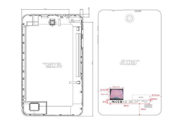 2018款宏�Iconia One 8平板现身FCC:配1G内存