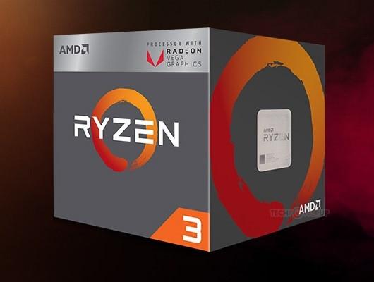 AMD Ryzen APU包装盒首曝:Vega标识惹眼