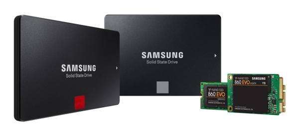 三星正式发布860 PRO、860 EOV SSD:寿命暴增8倍