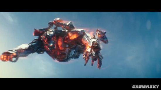 《环太平洋2》火爆新预告 星战男主大战怪兽