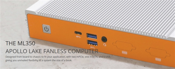 无风扇设计!逻辑ML350工业计算机发布:支持4G LTE