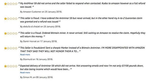 男子花3万在英国亚马逊买挖矿机:到货竟是动画片