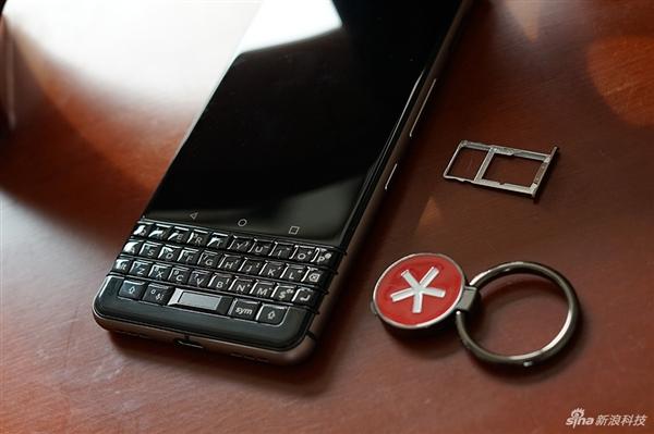 3699元!黑莓KEYone精英版开箱:经典全键盘设计