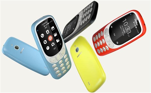 完美了!诺基亚3310 4G版国行上线:续航无敌