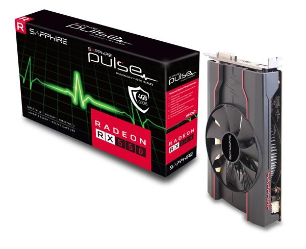 蓝宝石发布福利版RX 550:流处理器秒变640个