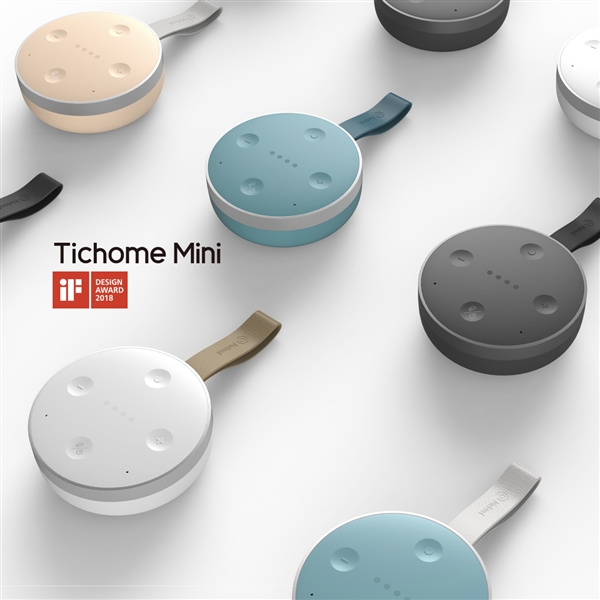 小问智能耳机TicPods Free荣获2018年iF设计奖