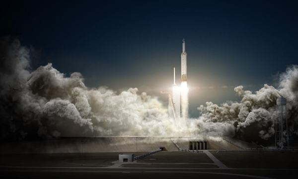 2月6号升空!Space X公司确认将发射猎鹰重型火箭
