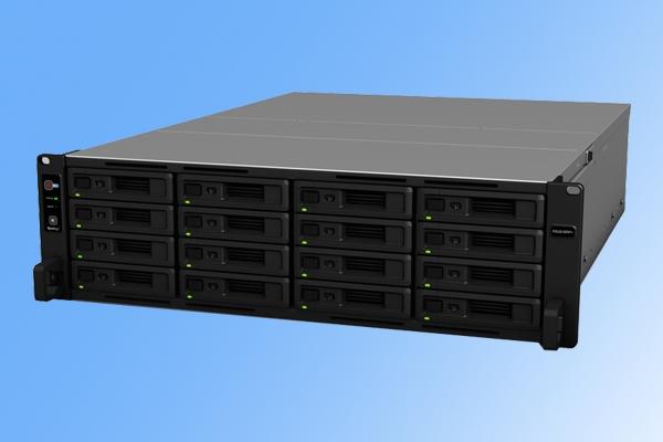 支持192TB存储!群晖新款NAS发布:16个硬盘位
