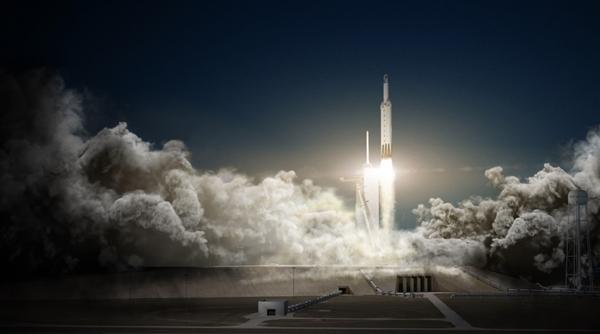 Space X猎鹰重型火箭中级回收失败:网友称不是二手不好使