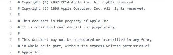 苹果不淡定了:iOS源代码泄漏!