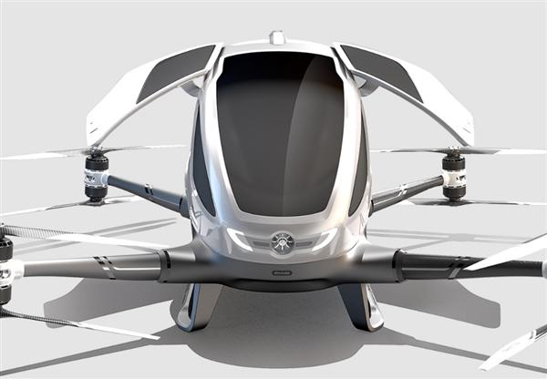 亿航自动驾驶载人飞行器在广州试飞成功:创始人亲自上天