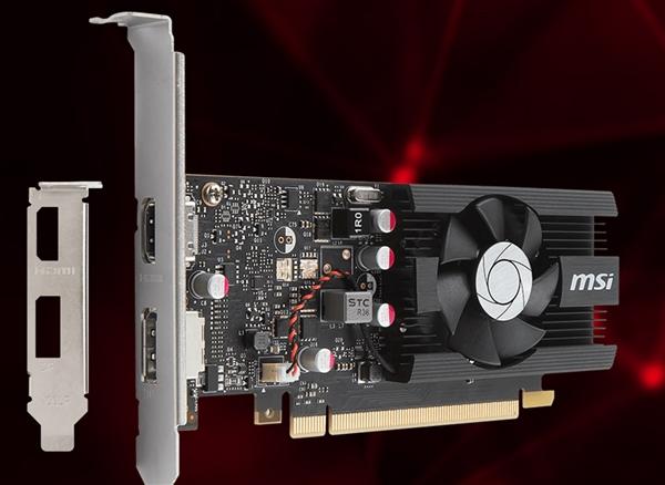 NV砍掉的GT 1030 G-Sync功能:微星给支持回来了