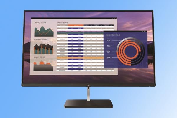 14毫秒灰阶响应!惠普S270n专业显示器发布:4K分辨率