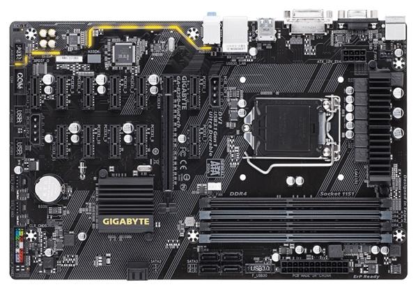 三大绝技!技嘉发布B250挖矿专用主板:12条PCI-E插槽