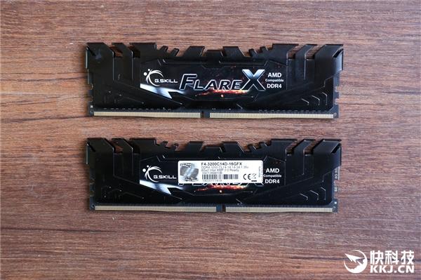 FlareX系列是专门为AMD Ryzen处理器量身打造的DDR4内存